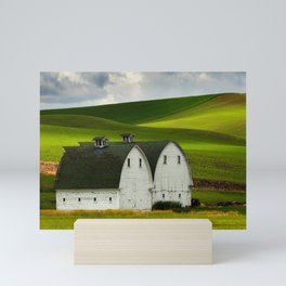 Two Barns Mini Art Print