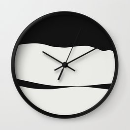 White Hills Ahead Wall Clock