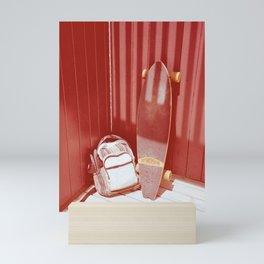 Red Long Mini Art Print