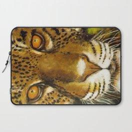 Wildlife Animal Painting - Jaguar Laptop Sleeve