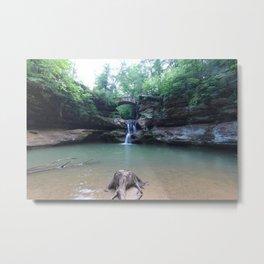 Hocking Hills 0615 Metal Print