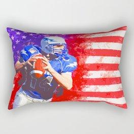 American Football Rectangular Pillow