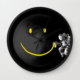 Smile Space Wall Clock