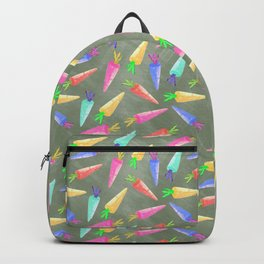 happy rainbow carrots Backpack