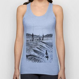 The Waiting Game Art Unisex Tank Top