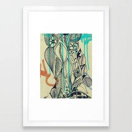 Interflocking Framed Art Print