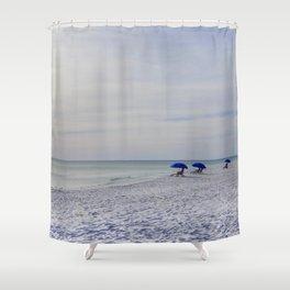 Serene Seagrove Beach Shower Curtain