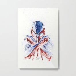 Spider-man 2099 - Splatter Artwork Metal Print