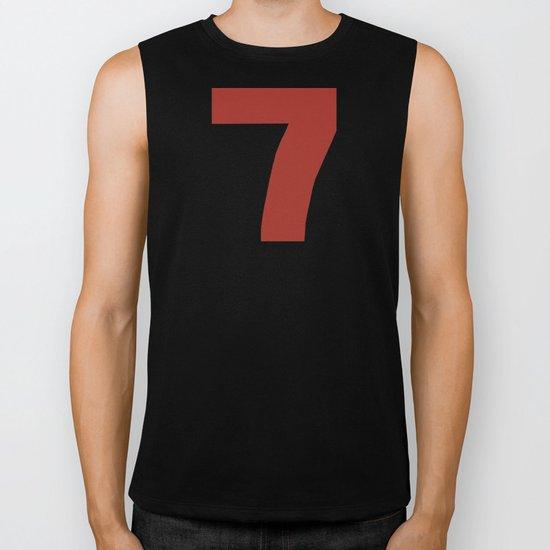 Number 7 Biker Tank