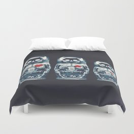 Nesting Doll X-Ray Duvet Cover