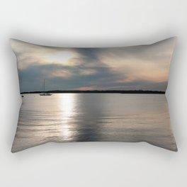 Sunset Over Narragansett Rectangular Pillow