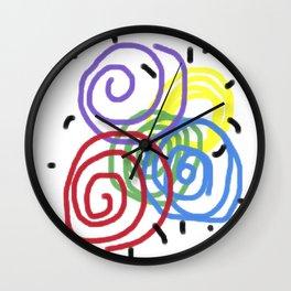 Children Flashback Wall Clock