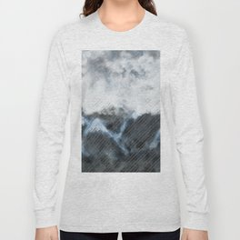 Stormy Mountains Long Sleeve T-shirt