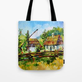 House in the village # 3 Tote Bag