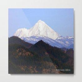 Mount Lassen... Metal Print