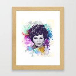 Eartha Kitt II Framed Art Print