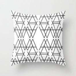A Pattern Throw Pillow