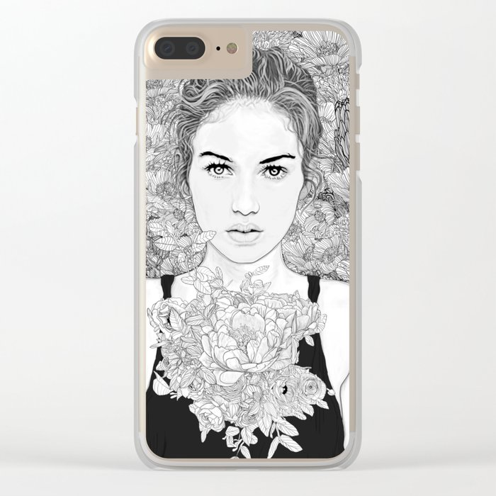 Lasting Dream Clear iPhone Case