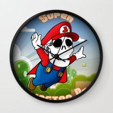 Super Skellington Bros. Wall Clock