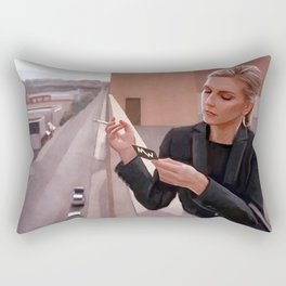 Kim Wexler On The Rooftop - Better Call Saul Rectangular Pillow