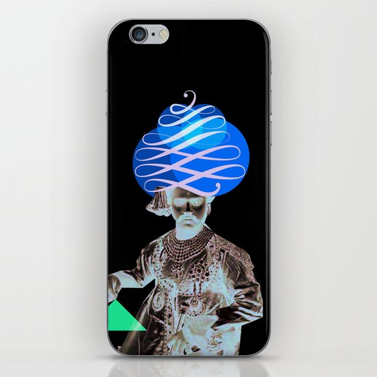 Lettering is a Maharaja's turban iPhone & iPod Skin