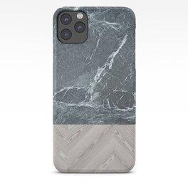wood stone iPhone Case