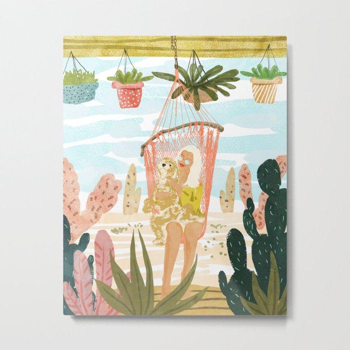 Desert Home Metal Print