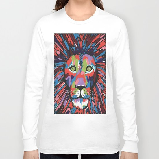 Flamboyant Lion Long Sleeve T-shirt