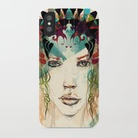 princess iPhone & iPod Cases featuring princess by Irmak Akcadogan