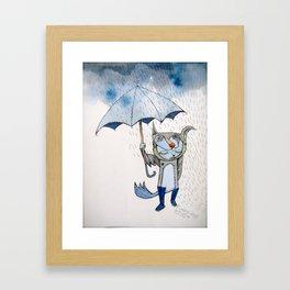 rain rain go away... Framed Art Print