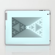 Triangles Glow Laptop & iPad Skin
