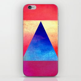Triangle Composition VIII iPhone Skin