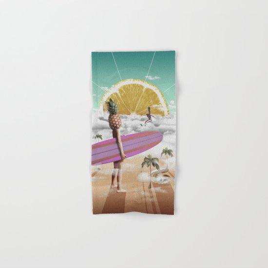 Sweet Surfing Hand & Bath Towel