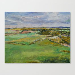 Scottish Lowlands Canvas Print