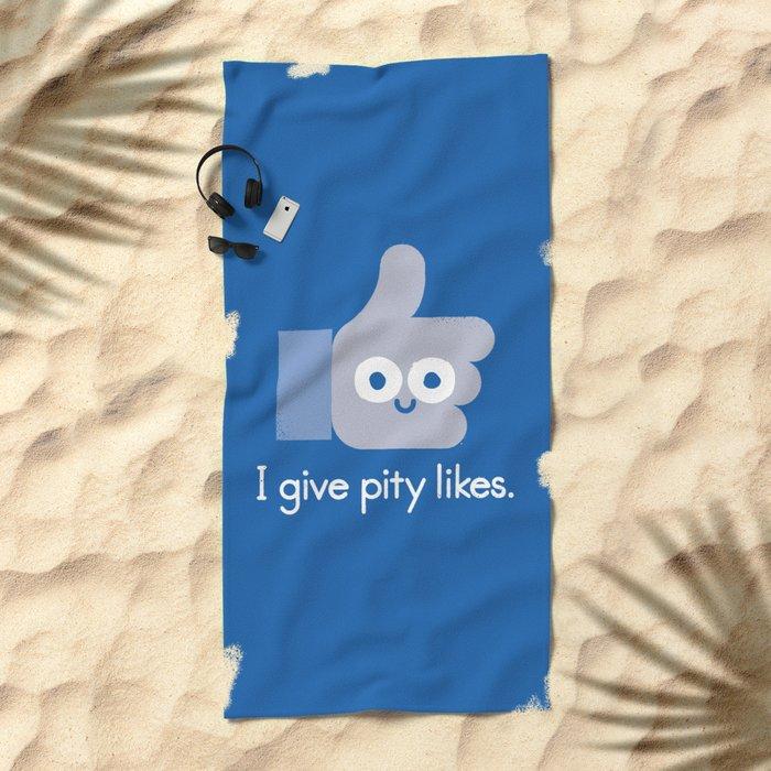 No Comment Beach Towel