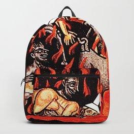 Devils cooking Dunces Backpack