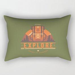 Explore - Backpack Rectangular Pillow