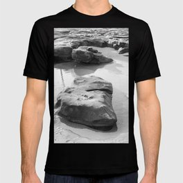 Rugged Rocks at Beach T-shirt