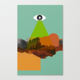 Stargate 001 Canvas Print