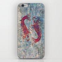 koi iPhone & iPod Skins featuring Koi by Vitta
