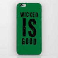 maze runner iPhone & iPod Skins featuring Maze Runner: Wicked is Good by Makar Deku