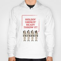 ghostbusters Hoodies featuring Ghostbusters Quote by V.L4B