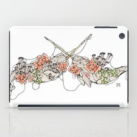 narwhal iPad Cases featuring Narwhal  by Erin Inglis