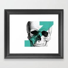 skull7 Framed Art Print