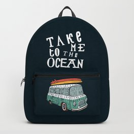 Surfer Van Backpack