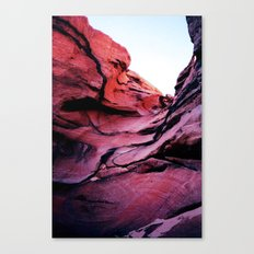 Rainbow Canyon Canvas Print