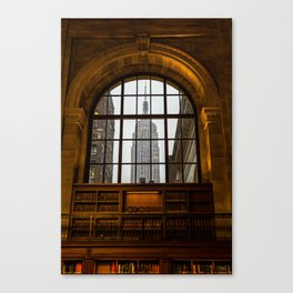 ESB from NYPL Canvas Print