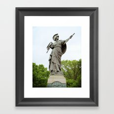 The Spirit of the Empire Framed Art Print
