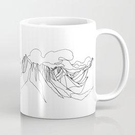 Mount Jumbo :: Single Line Coffee Mug