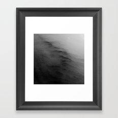 Clouds & Hills Framed Art Print